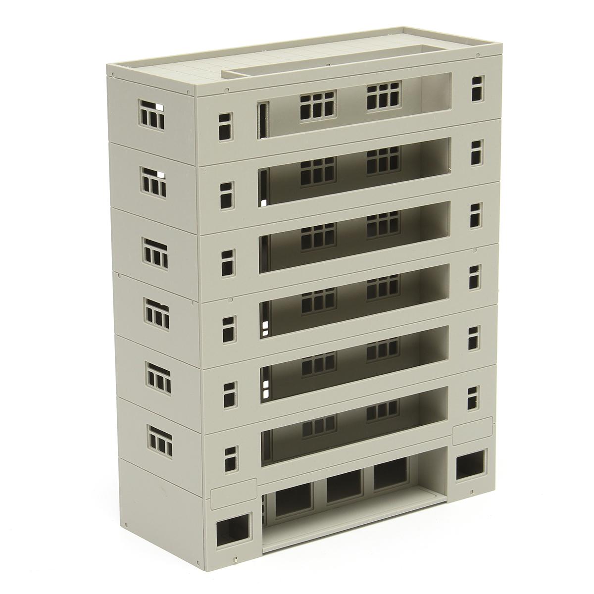 b6abf277d063 Models Railway Dormitory School Building Unpainted Scale 1:160 N HO FOR  GUNDAM