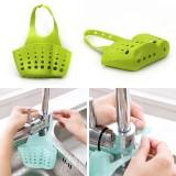 Kitchen Portable Hanging Drain Bag Basket Bath Storage Gadget Tools Sink Holder