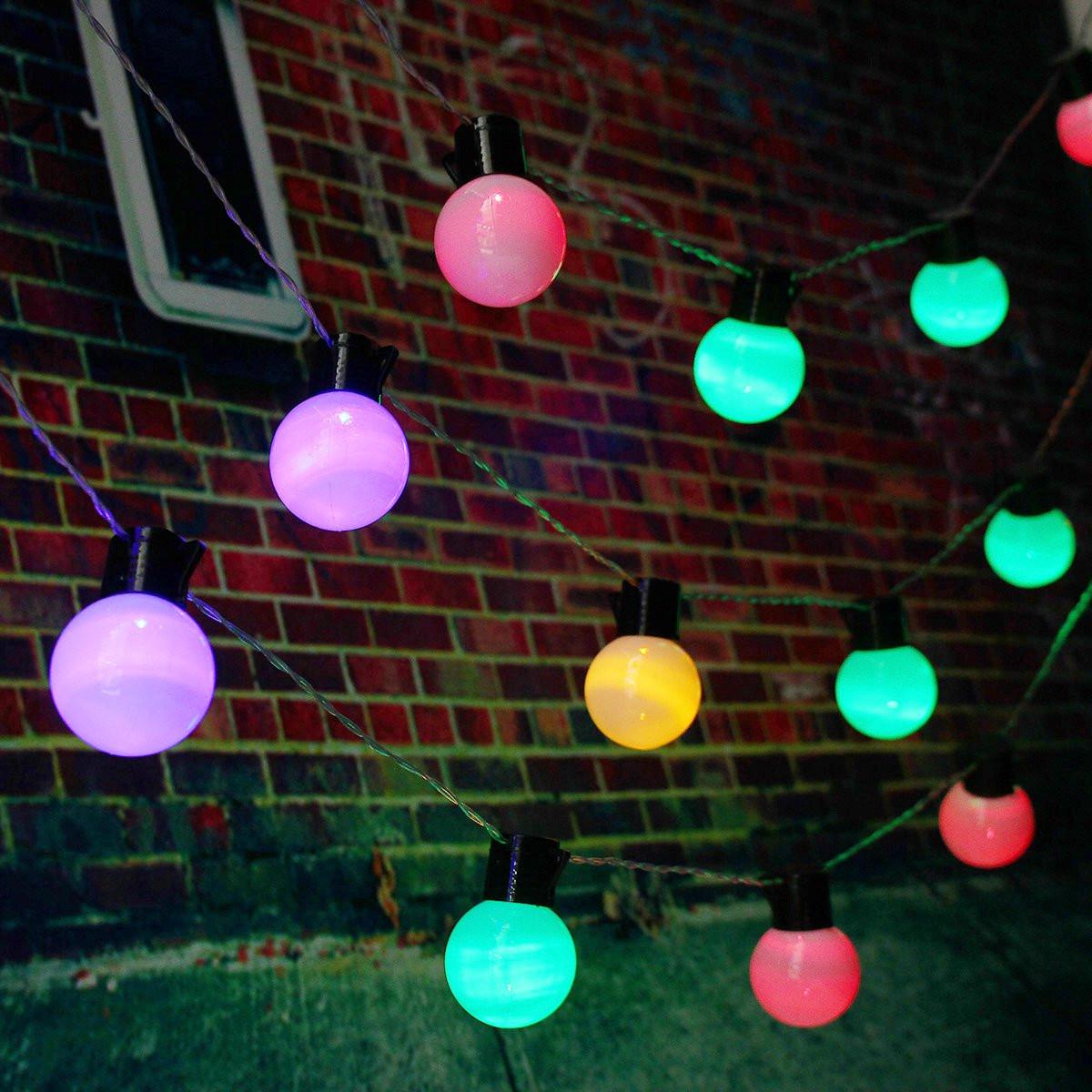 10m 38 Balls LED String Fairy Lights Party Xmas Wedding Holiday Lamp 220V EU Plug