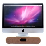 SamDi Multifunctional Artistic Wood Grain Walnut Drawer / Desktop Holder Stand Cradle for Apple Macbook, ASUS, Lenovo (Coffee)