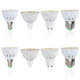 E14 E27 GU10 MR16 AC85-265V 3.5W 24 SMD 5730  Pure White Warm White LED Spot Light Bulbs 350LM