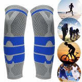 2pcs Elastic Neoprene Knee Support Strap Protection Running Injury Sprain Sport