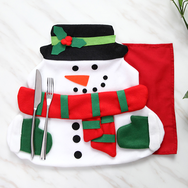 Christmas santa claus table mat with napkin cloth pad for - Table gifts for christmas ...