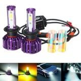 Pair H7 H11 9005 9006 30W 3000LM LED Headlight COB Canbus Lamp Bulb