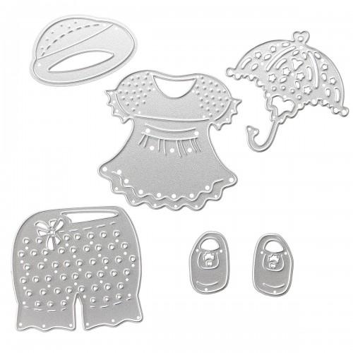 Lovely Clothes Metal Cutting Dies Stencil Scrapbook Card Album Paper Craft Decoration