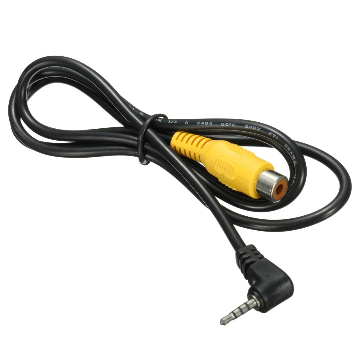2 5mm Stereo Male Plug To Rca Female Adapter For Gps Av In Converter