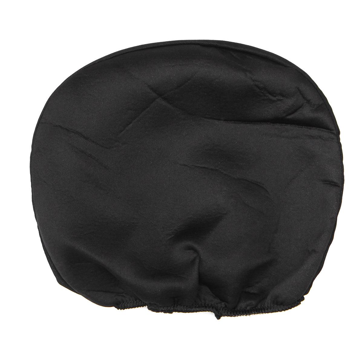 universal car seat covers front rear protectors 9 piece set washable grey black. Black Bedroom Furniture Sets. Home Design Ideas
