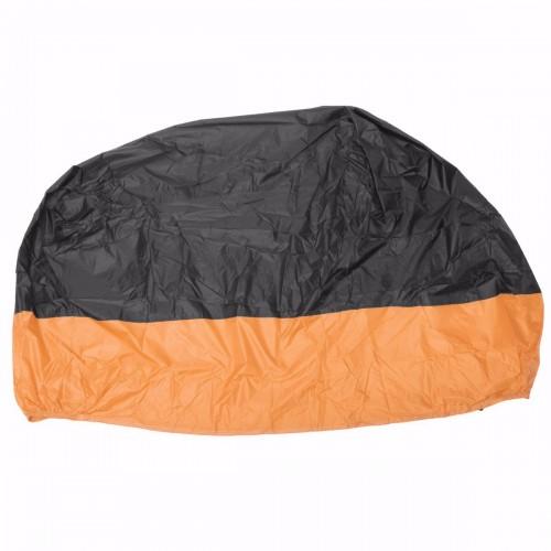 Book Cover Black Xl ~ Motorcycle waterproof cover scooter rain dust orange