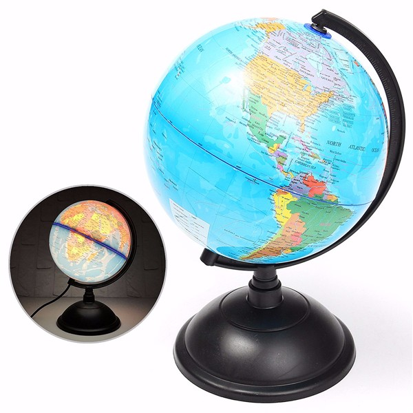 20cm led world globe earth tellurion atlas map rotating stand 20cm led world globe earth tellurion atlas map rotating stand geography educational gumiabroncs Image collections