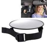Circular Convex Car Reflective Mirror Rearview Mirror Rear View Blind Spot Auxiliary Mirror Child Safety Seat Viewing Mirror