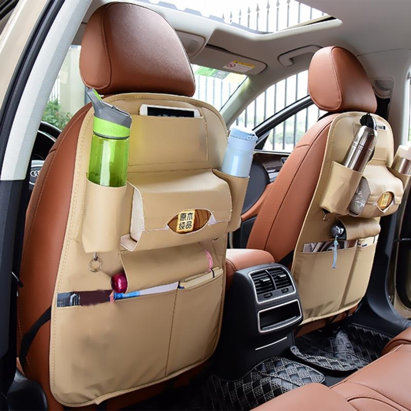 Auto Car Seat Back Organizer Car Seat Hanging Bag Storage