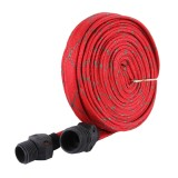 20M High Pressure Garden Car Hose Spray Washing Water Gun Sprayer Cleaner Nozzle (Red)