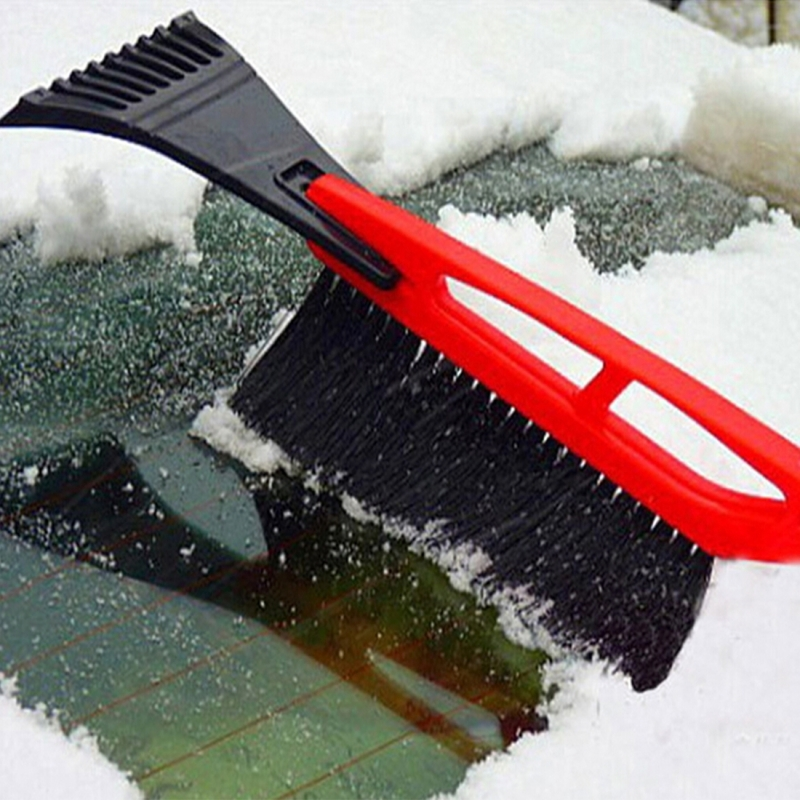 Garden Hand Tools New Fashion Premium Ice Scrape Heavy Duty Frost And Snow Removal For Car Windshield And Window Tool Cleaning Tools Snow Shovel#sw Spade & Shovel