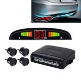 Car Buzzer Reverse Backup Radar System – Premium Quality 4 Parking Sensors Car Reverse Backup Radar System with LCD Display