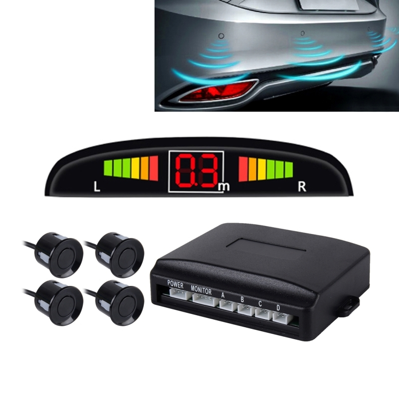 Vehicle Display Systems : Car buzzer reverse backup radar system premium quality