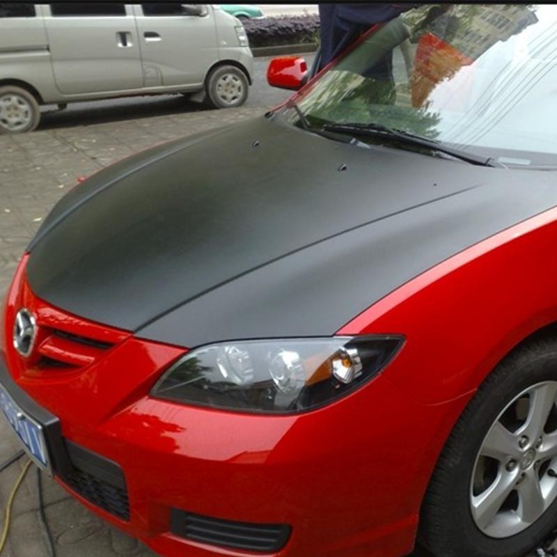 30*152cm Black 5DShine Carbon Fiber Style Vinyl Wrap Car Interior Decal StickerD