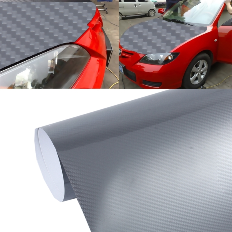 5D High Gloss Carbon Fiber Car Vinyl Wrap Sticker Decal Film Sheet Air Release, Size. 1afa1b7d2d0d5d1b. ...