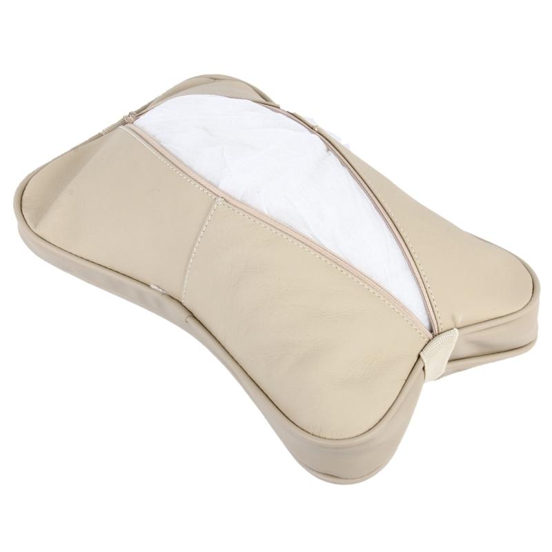 2 PCS MLC-06 Car Neck Pillow Soft Version Lovely Breathe Car Auto Head Neck Rest Cushion Headrest Pillow Pad (Khaki)