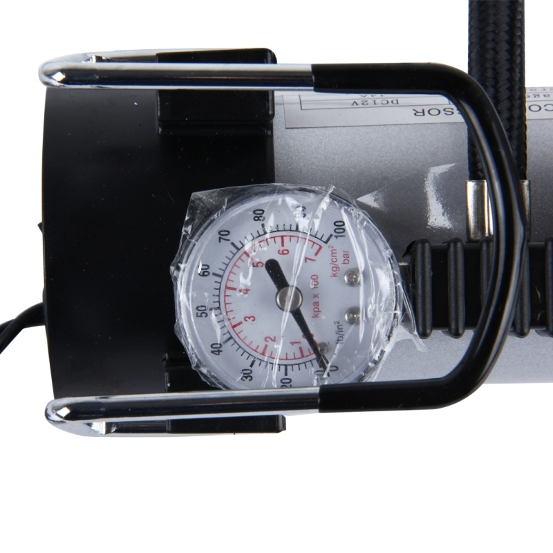 Air compressor with pressure gauge and three nozzle adapters air compressor with pressure gauge and three nozzle adapters portable metal cylinder tire inflator compressor for cars vans air mattress balls 150 psi publicscrutiny Image collections