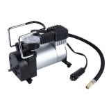 Air Compressor with Pressure Gauge And Three Nozzle Adapters, Portable Metal Cylinder Tire Inflator Compressor for Cars Vans Air Mattress Balls 150 PSI 35L/min Maximum Voltage DC 12V Maximum Amperage Draw 14A