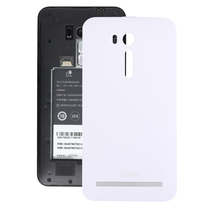 timeless design ab0b8 17085 Replacement for 5.5 inch Asus Zenfone Go / ZB551KL Original Back Battery  Cover (White)