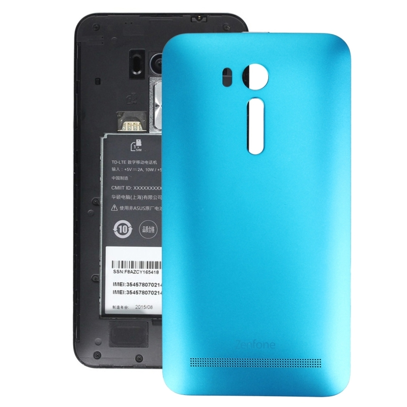promo code 84c51 68e6e Replacement for 5.5 inch Asus Zenfone Go / ZB551KL Original Back Battery  Cover (Blue)