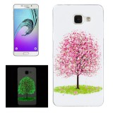 For Samsung Galaxy A3 (2016) / A310 Noctilucent Cherry Tree Pattern IMD Workmanship Soft TPU Back Cover Case