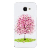 For Samsung Galaxy A5 (2016) / A510 Noctilucent Cherry Tree IMD Workmanship Soft TPU Back Cover Case