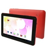 Android 4.0 Tablet PC 8GB, Android 4.0 AllWinner A33 Quad Core up to 1.2GHz, RAM: 1GB, WiFi (Red)