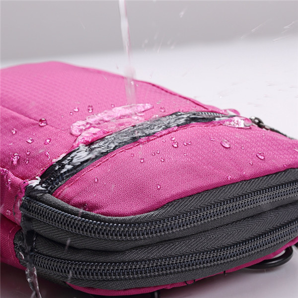 Women Men Light Sports Shoulder Bags Crossbody Bags Outdoor Running Waist Bags 6.44'' Phone Bags