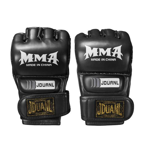 Mitts Half-finger Fitness Boxing Gloves Punch Bag Training Equipment Hot Gym