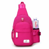 Women Nylon Large Capacity Daily Crossbody Bag Waterproof Durable Chest Bag Shoulder Bag