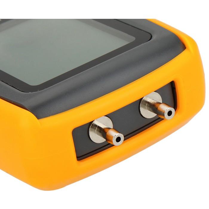 GM510 Portable Digital LCD Display Pressure Manometer 50KPa Pressure Differential Manometer Pressure Gauge