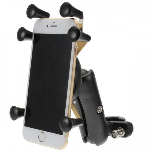 4.0-6.0 Inch Phone GPS Holder Anti-theft For Motorcycle Scooter Bike Handlebar