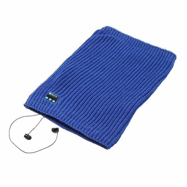 Universal Bluetooth Headset Scarf Warm Winter Knitting
