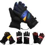 12V Waterproof Electric Heated Gloves Winter Inner Warmer Motorcycle Ski Racing