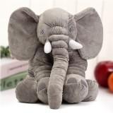23.5″ 60cm Cute Jumbo Elephant Plush Doll Stuffed Animal Soft Kids Toy Gift