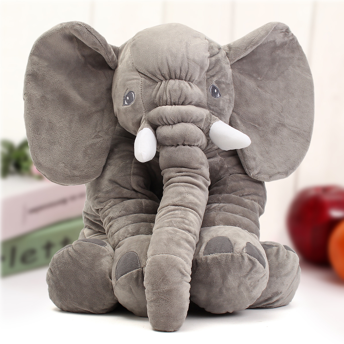 Soft Plush Toys : ″ cm cute jumbo elephant plush doll stuffed animal