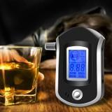 AT6000 LCD Smart Portable Digital Alcohol Breath Analyzer Tester Breathalyzer Detector