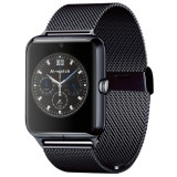Z50 Smart Watch Phone, 1.54 inch IPS Touch Screen, Support SIM Card & TF Card, Bluetooth, GSM, 0.3MP Camera, Pedometer, Sedentary Alarm, Sleep Monitor, GPS, Remote Camera, Anti-lost Function (Black)