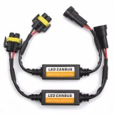 2pcs H11 LED Headlight Canbus Error Free Anti Flicker Resistor Canceller Decoder