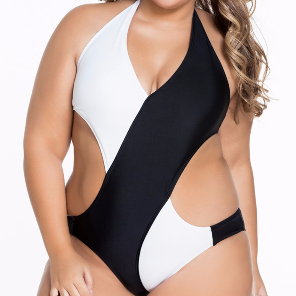 Plus size sexy swim