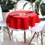 Christmas Suit Table Cloth Tableware Mat Table Runner Tablecloth Desk Cover Bowl Heat Insulation