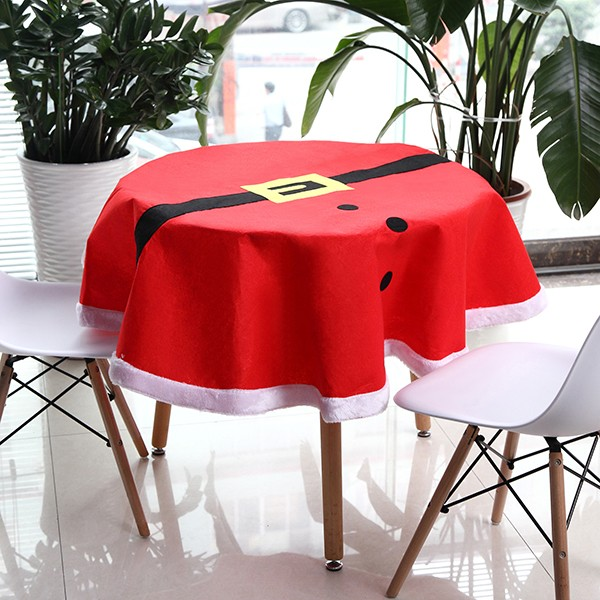 Christmas suit table cloth tableware mat table runner for 12 days of christmas table cloth