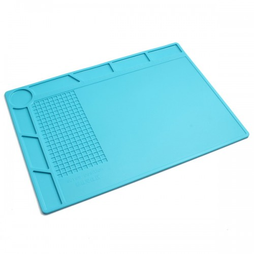 Scaffold Desk Mat : Heat resistant silicone pad desk mat insulation