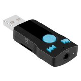 Bluetooth USB SD Music Receiver Adapter MP3 Player Car Handfree Calling 3.5MM AUX Audio A2DP