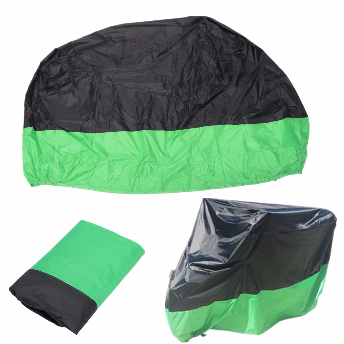 Book Cover Black Xl : Motorcycle waterproof cover scooter rain dust green
