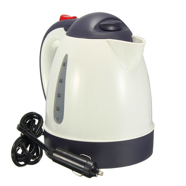 1000ml 12v 24v 304 Stainless Car Water Heater Kettle With