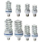 E27 5W-30W LED Spiral Style Ultra Bright Energy Saving White Light Bulb Lamp AC86-245V
