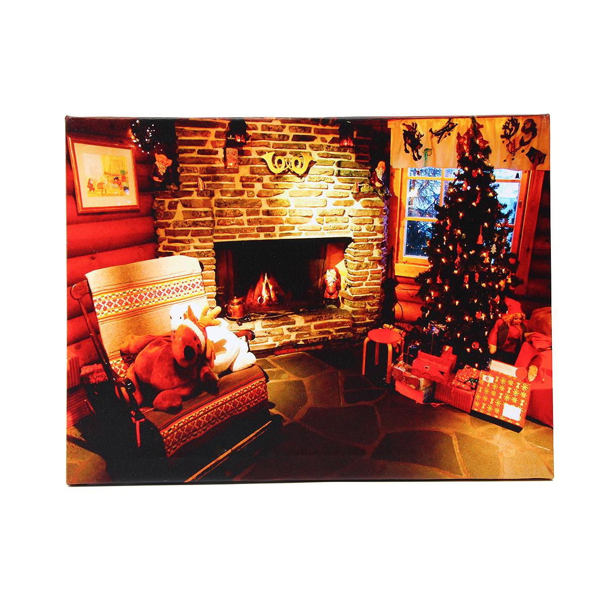 40 X 30cm Operated Led Home Christmas Decor Tree Xmas